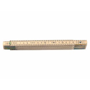 Gliedermeter aus Holz, 2m, 10
